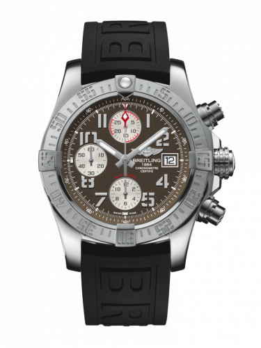 Breitling A1338111/F564/153S/A20D.2 : Avenger II Stainless Steel / Tungsten Gray / Rubber / Folding