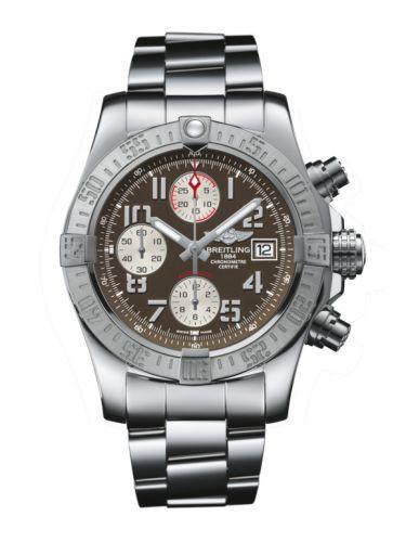 Breitling A1338111/F564/170A : Avenger II Stainless Steel / Tungsten Gray / Bracelet