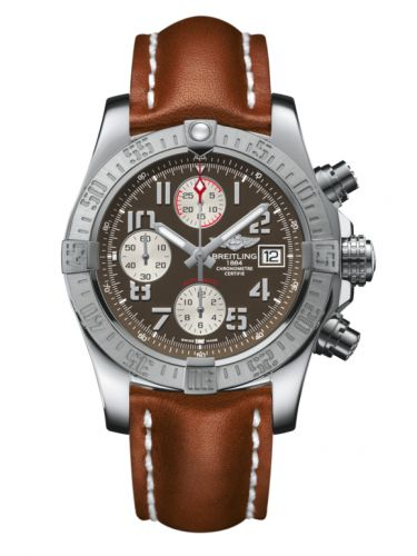 Breitling A1338111/F564/433X/A20BA.1 : Avenger II Stainless Steel / Tungsten Gray / Calf / Pin