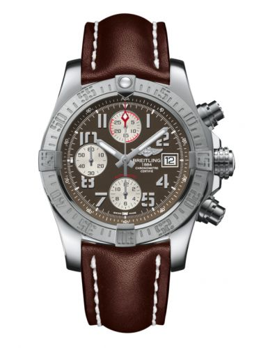 Breitling A1338111/F564/437X/A20BA.1 : Avenger II Stainless Steel / Tungsten Gray / Calf / Pin