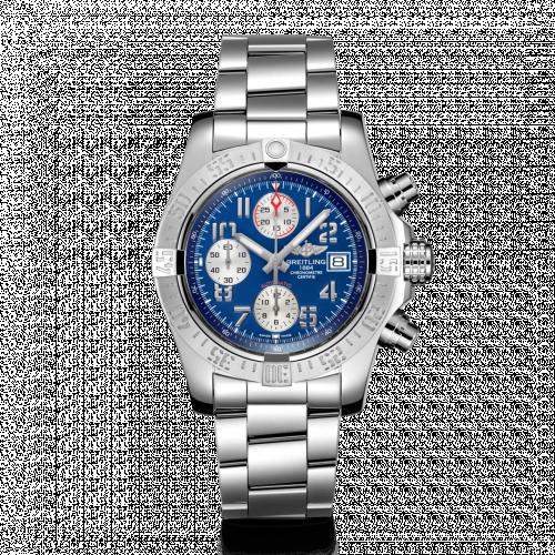 Breitling A13381111C1A1 : Avenger II Stainless Steel / Mariner Blue / Bracelet