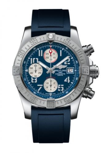Breitling A1338111.C870.145S : Avenger II Stainless Steel / Mariner Blue / Rubber