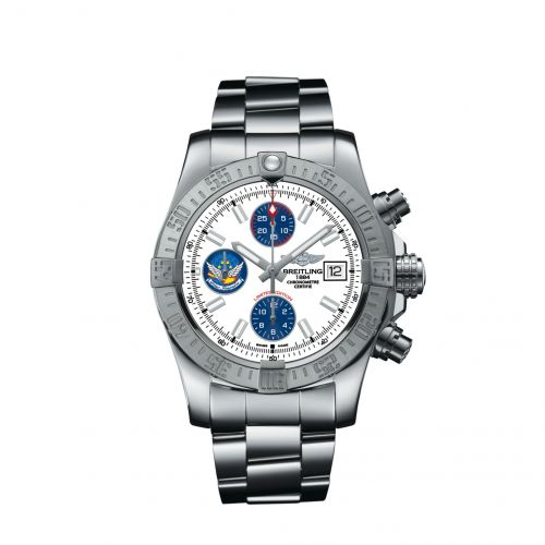 Breitling A133811A/A811/170A : Avenger II Stainless Steel / Blue Impulse