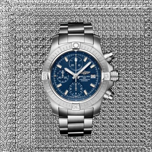Breitling A13385101C1A1 : Avenger Chronograph 43 Stainless Steel / Blue / Bracelet