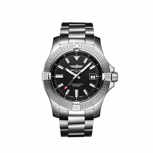 Breitling A17318101B1A1 : Avenger Automatic 43 Stainless Steel / Black / Bracelet