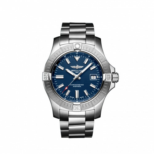 A17318101C1A1 : Breitling Avenger Automatic 43 Stainless Steel / Blue / Bracelet