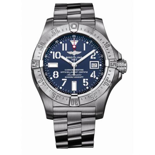 Breitling A1733010.C756 : Avenger Seawolf Stainless Steel / Blue