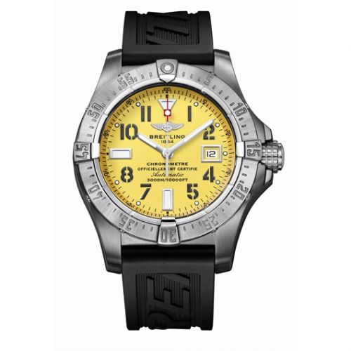 A1733010.I513 : Breitling Avenger Seawolf Stainless Steel / Yellow