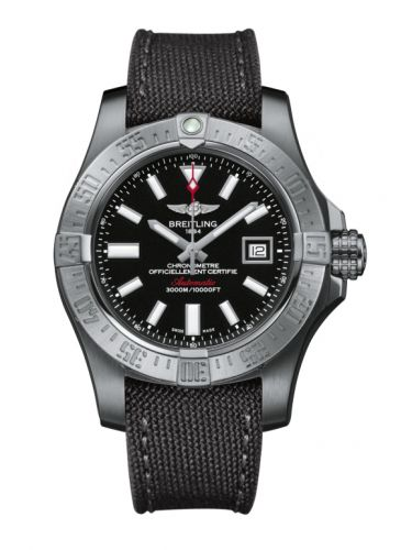 Breitling A1733110/BC30/109W/A20BASA.1 : Avenger II Seawolf Stainless Steel / Volcano Black / Military / Pin