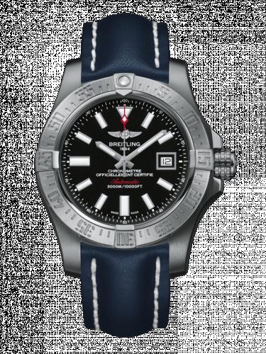 Breitling A1733110/BC30/112X/A20DSA.1 : Avenger II Seawolf Stainless Steel / Volcano Black / Calf / Folding