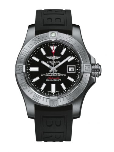 Breitling A1733110/BC30/152S/A20SS.1 : Avenger II Seawolf Stainless Steel / Volcano Black / Rubber / Pin