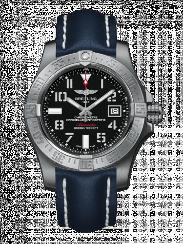 Breitling A1733110/BC31/112X/A20DSA.1 : Avenger II Seawolf Stainless Steel / Volcano Black / Calf / Folding