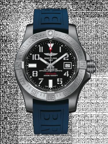 Breitling A1733110/BC31/157S/A20DSA.2 : Avenger II Seawolf Stainless Steel / Volcano Black / Rubber / Folding