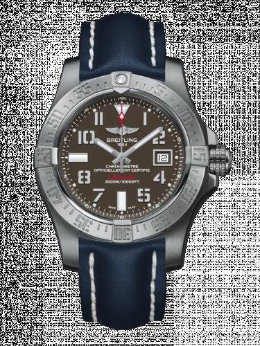 Breitling A1733110/F563/105X/A20BASA.1 : Avenger II Seawolf Stainless Steel / Tungsten Gray / Calf / Pin