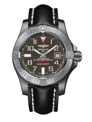 Breitling A1733110/F563/435X/A20BASA.1 : Avenger II Seawolf Stainless Steel / Tungsten Gray / Calf / Pin