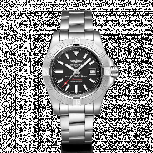 Breitling A17331101B1A1 : Avenger II Seawolf Stainless Steel / Volcano Black / Bracelet