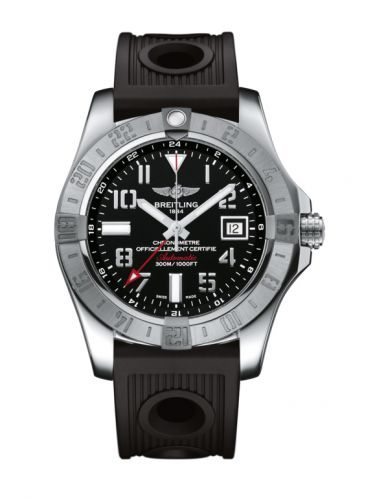 Breitling A3239011/BC34/200S/A20D.2 : Avenger II GMT Stainless Steel / Volcano Black / Rubber