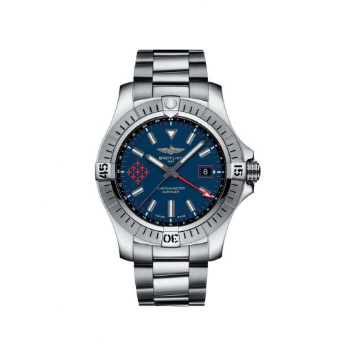 Breitling A323951A1C1A1 : Avenger Automatic GMT 45 Stainless Steel / Red Arrows