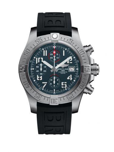 Breitling E1338310/M536/152S/A20SS.1 : Avenger Bandit Titanium / Titanium Gray / White Hands / Rubber / Pin