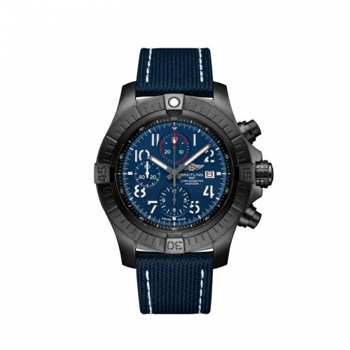 Breitling V13375101C1X1 : Avenger Chronograph 48 Night Mission / Blue / Military / Pin