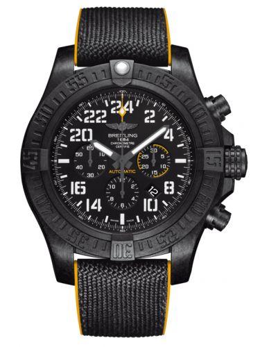 Breitling XB1210E4/BE89/257S/X20D.4 : Avenger Hurricane 24H Breitlight / Volcano Black / Military Rubber