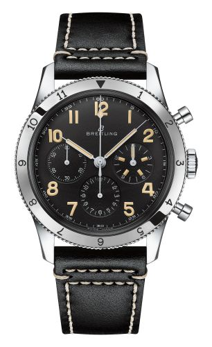 AB0920131B1X1 : Breitling AVI Ref. 765 1953 Re-Edition Stainless Steel