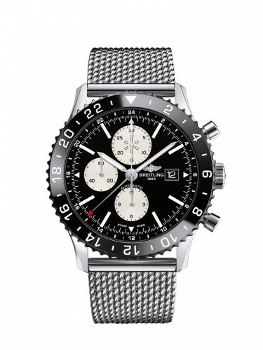 Y2431012.BE10.152A : Breitling Chronoliner Stainless Steel / Black / Ocean Classic