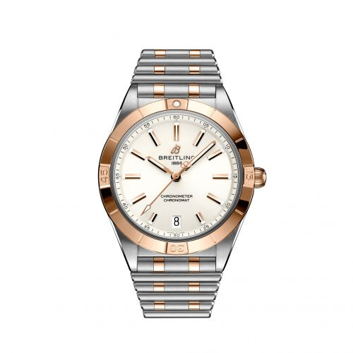 Breitling U10380101A1U1 : Chronomat Automatic 36 Stainless Steel / Red Gold / White / Rouleaux