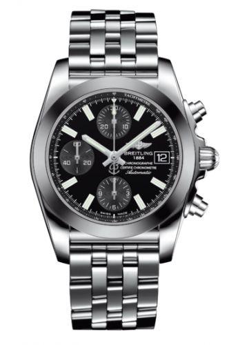 Breitling W1331012/BD92/385A : Chronomat 38 SleekT Black