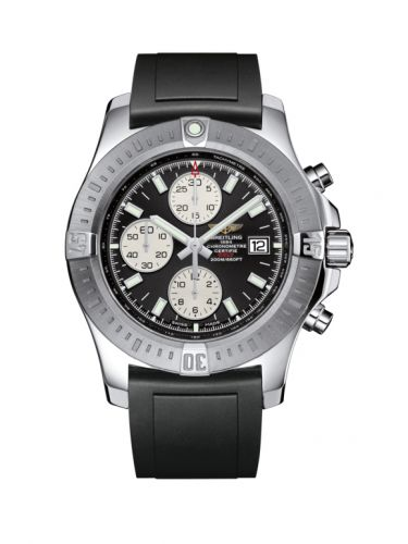 Breitling A1338811/BD83/131S/A20S.1 : Colt Chronograph Automatic Stainless Steel / Volcano Black / Rubber / Pin