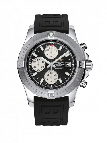 Breitling A1338811/BD83/153S/A20D.2 : Colt Chronograph Automatic Stainless Steel / Volcano Black / Rubber / Folding