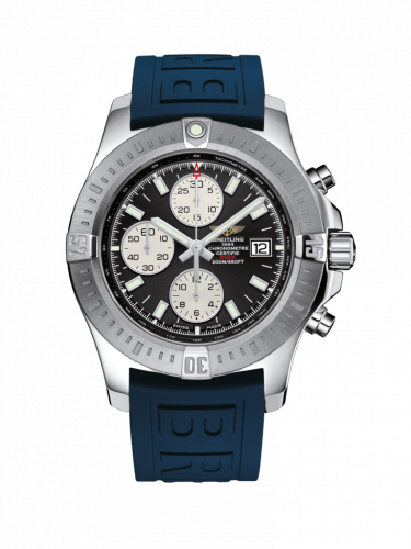 Breitling A1338811/BD83/157S/A20D.2 : Colt Chronograph Automatic Stainless Steel / Volcano Black / Rubber / Folding