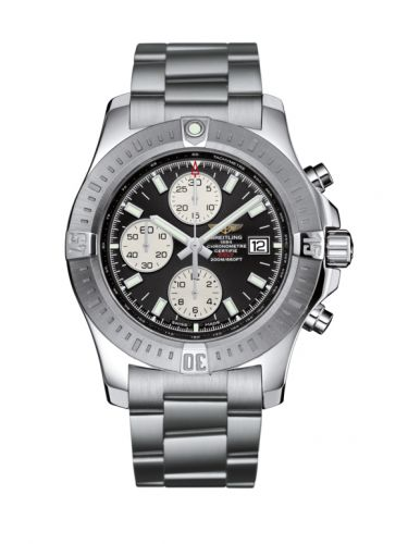 Breitling A1338811.BD83.173A : Colt Chronograph Automatic Stainless Steel / Volcano Black / Bracelet