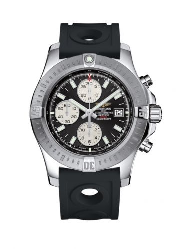 Breitling A1338811/BD83/227S/A20S.1 : Colt Chronograph Automatic Stainless Steel / Volcano Black / Rubber / Pin