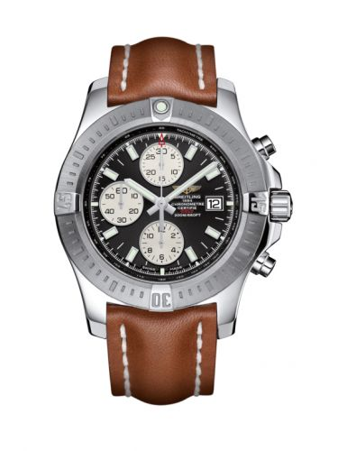 Breitling A1338811/BD83/433X/A20BA.1 : Colt Chronograph Automatic Stainless Steel / Volcano Black / Calf / Pin