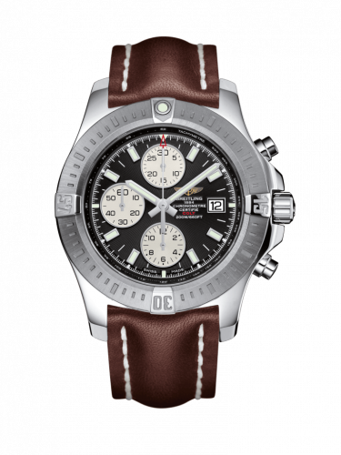 Breitling A1338811/BD83/438X/A20D.1 : Colt Chronograph Automatic Stainless Steel / Stratus Silver / Calf / Folding