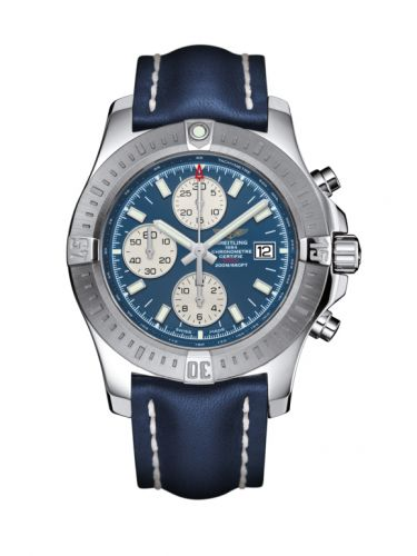 Breitling A13388111C1X1 : Colt Chronograph Automatic Stainless Steel / Mariner Blue / Calf / Pin