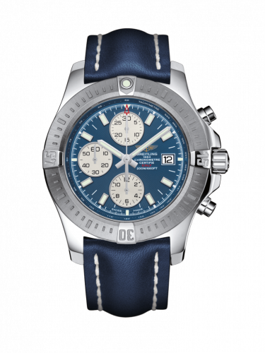 Breitling A1338811/C914/112X/A20D.1 : Colt Chronograph Automatic Stainless Steel / Mariner Blue / Calf / Folding