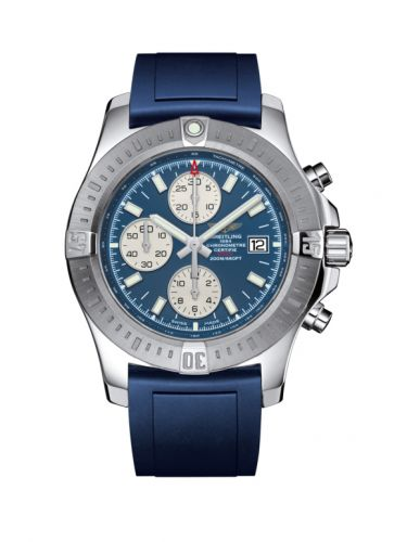 Breitling A1338811/C914/145S/A20S.1 : Colt Chronograph Automatic Stainless Steel / Mariner Blue / Rubber / Pin