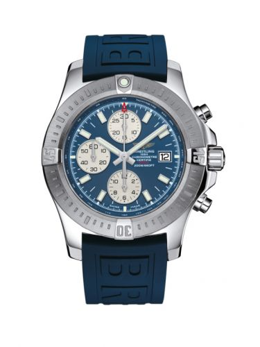 Breitling A1338811/C914/158S/A20S.1 : Colt Chronograph Automatic Stainless Steel / Mariner Blue / Rubber / Pin