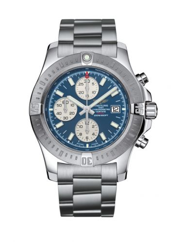 Breitling A13388111C1A1 : Colt Chronograph Automatic Stainless Steel / Mariner Blue / Bracelet