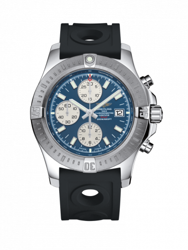 Breitling A1338811/C914/227S/A20S.1 : Colt Chronograph Automatic Stainless Steel / Mariner Blue / Rubber / Pin