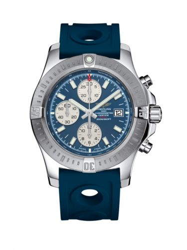 Breitling A1338811.C914.228S/A20S.1 : Colt Chronograph Automatic Stainless Steel / Mariner Blue / Rubber / Pin