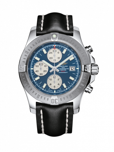 Breitling A1338811/C914/435X/A20BA.1 : Colt Chronograph Automatic Stainless Steel / Mariner Blue / Calf / Pin