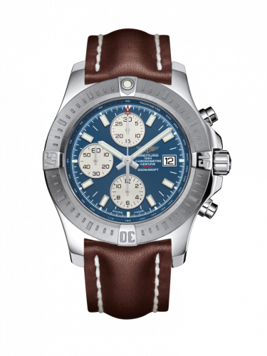 Breitling A1338811/C914/438X/A20D.1 : Colt Chronograph Automatic Stainless Steel / Mariner Blue / Calf / Folding