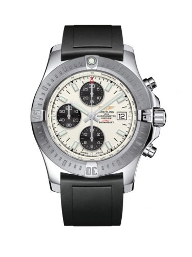 Breitling A1338811/G804/131S/A20S.1 : Colt Chronograph Automatic Stainless Steel / Stratus Silver / Rubber / Pin