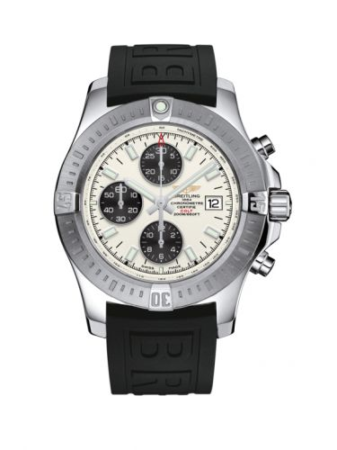Breitling A1338811/G804/152S/A20S.1 : Colt Chronograph Automatic Stainless Steel / Stratus Silver / Rubber / Pin