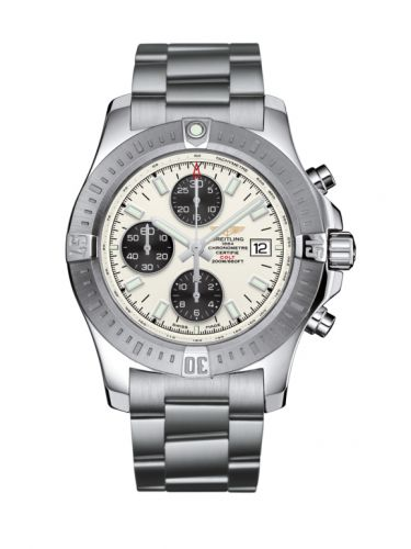 Breitling A13388111G1A1 : Colt Chronograph Automatic Stainless Steel / Stratus Silver / Bracelet