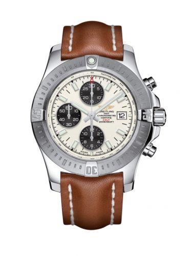 Breitling A1338811/G804/433X/A20BA.1 : Colt Chronograph Automatic Stainless Steel / Stratus Silver / Calf / Pin