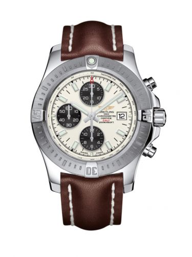 Breitling A1338811/G804/437X/A20BA.1 : Colt Chronograph Automatic Stainless Steel / Stratus Silver / Calf / Pin